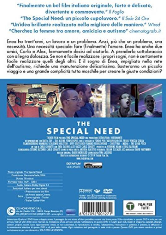 The Special Need di Carlo Zoratti - DVD - 2