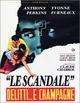 Cover Dvd DVD Lo scandalo - Delitti e... champagne