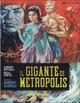 Cover Dvd DVD Il gigante di Metropolis