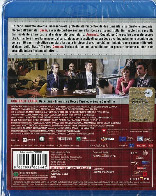 La buca di Daniele Ciprì - Blu-ray - 2