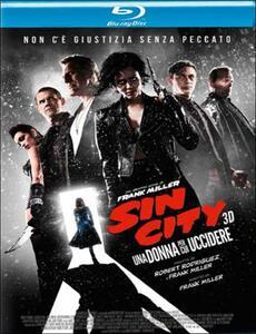 Sin City. Una donna per cui uccidere 3D (Blu-ray + Blu-ray 3D) di Frank Miller,Robert Rodriguez