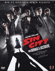 Sin City. Una donna per cui uccidere di Frank Miller,Robert Rodriguez - DVD