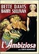 Cover Dvd L'ambiziosa