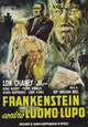 Cover Dvd DVD Frankenstein contro l'uomo lupo