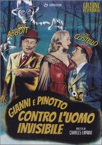 Cover Dvd Gianni e Pinotto contro l'uomo invisibile (DVD)