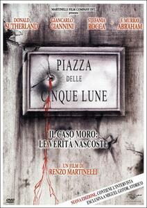 Piazza delle cinque lune di Renzo Martinelli - DVD