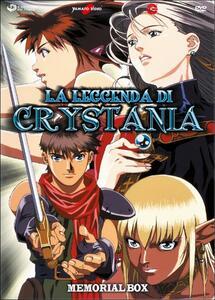 La leggenda di Crystania. Memorial Box (2 DVD) di Ryotaro Nakamura - DVD
