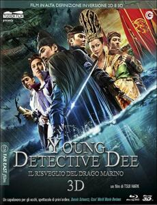 Young Detective Dee. Il risveglio del drago marino 3D (Blu-ray + Blu-ray 3D) di Hark Tsui
