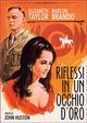 Cover Dvd Riflessi in un occhio d'oro
