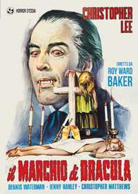 Locandina Il marchio di Dracula