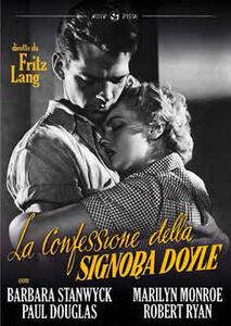 La confessione della signora Doyle di Fritz Lang - DVD