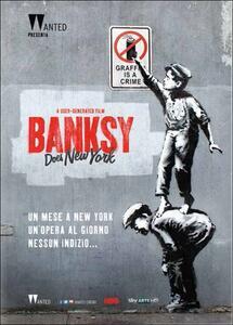 Banksy Does New York di Chris Moukarbel - DVD
