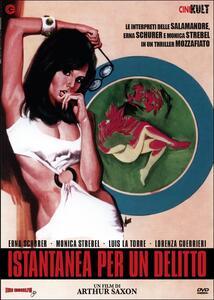 Istantanea per un delitto di Mario Imperoli,Arthur Saxon - DVD