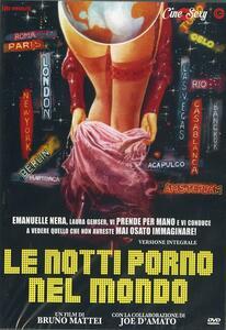 Le notti porno nel mondo di Bruno Mattei - DVD