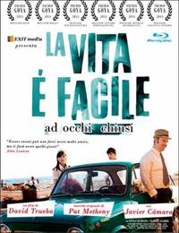 Cover Dvd vita è facile ad occhi chiusi (Blu-ray)