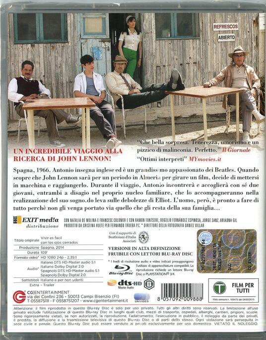 La vita è facile ad occhi chiusi di David Trueba - Blu-ray - 2