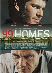 99 Homes. Speculazione e avidità di Ramin Bahrani - DVD