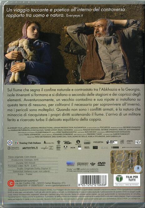 Corn Island di George Ovashvili - DVD - 2