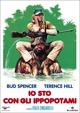 Cover Dvd Io sto con gli ippopotami