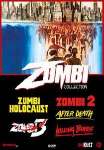 Zombi collection (5 DVD) di Claudio Fragasso,Lucio Fulci,Marino Girolami,Claudio Lattanzi