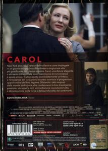Carol di Todd Haynes - DVD - 2