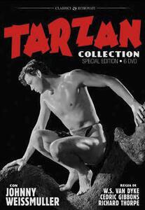 Tarzan. Johnny Weissmuller Collection (6 DVD) di Cedric Gibbons,Richard Thorpe - DVD