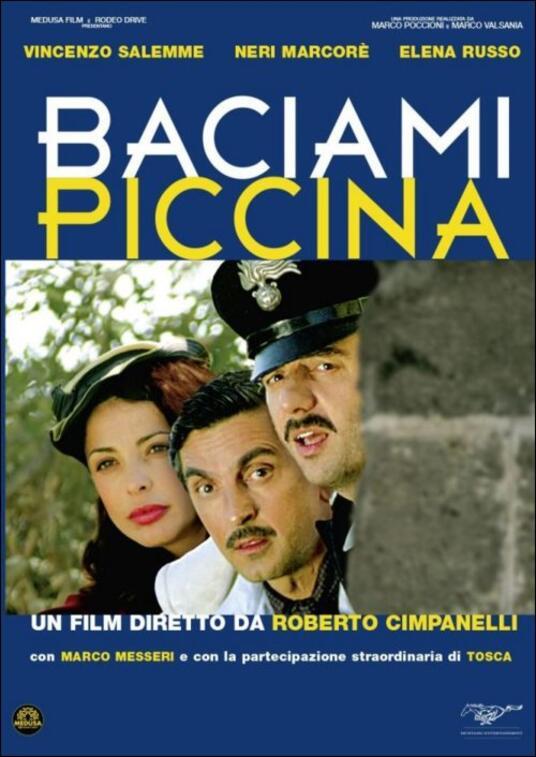 Baciami piccina di Roberto Cimpanelli - DVD