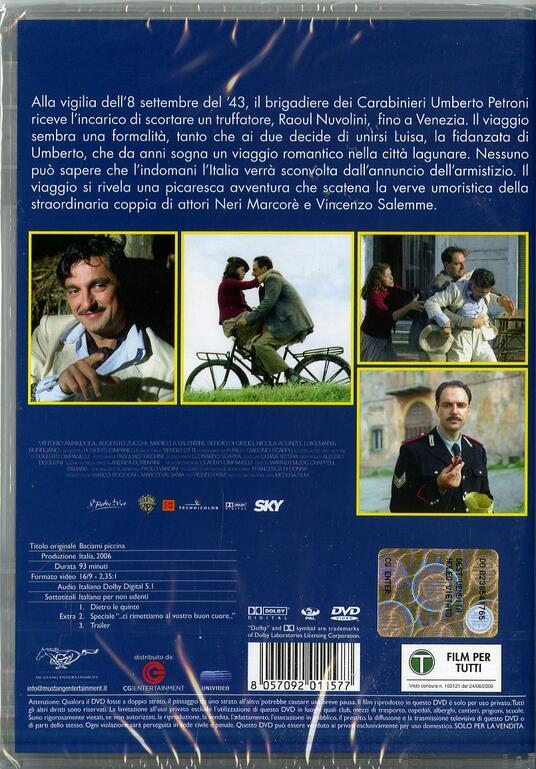 Baciami piccina di Roberto Cimpanelli - DVD - 2