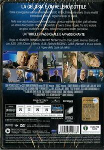 Sleuth. Gli insospettabili di Kenneth Branagh - DVD - 2