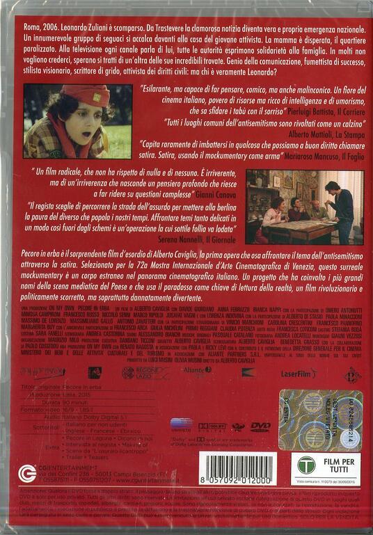 Pecore in erba di Alberto Caviglia - DVD - 2