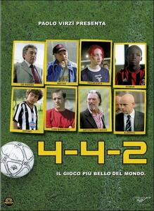 4-4-2 Il gioco più bello del mondo di Michele Carrillo,Claudio Cupellini,Franscesco Lagi,Roan Occam Anthony Johnson - DVD