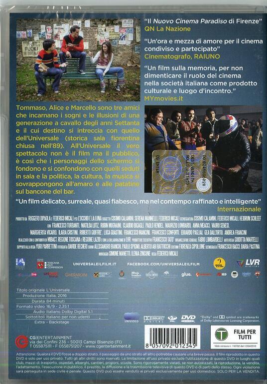 L' Universale di Federico Micali - DVD - 2