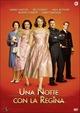Cover Dvd DVD Una notte con la Regina