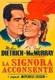 Cover Dvd DVD La signora acconsente