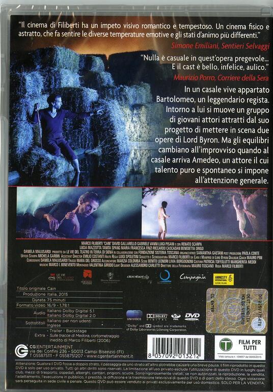Cain di Marco Filiberti - DVD - 2