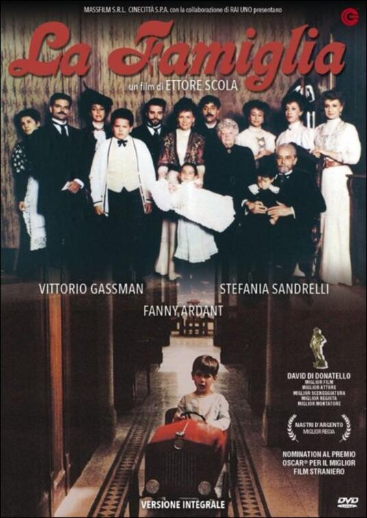 La famiglia di Ettore Scola - DVD