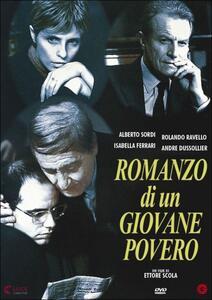 Romanzo di un giovane povero di Ettore Scola - DVD