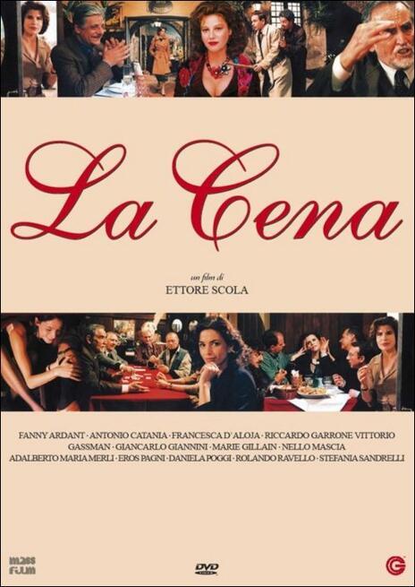 La cena di Ettore Scola - DVD