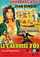 Cover Dvd DVD La carrozza d'oro