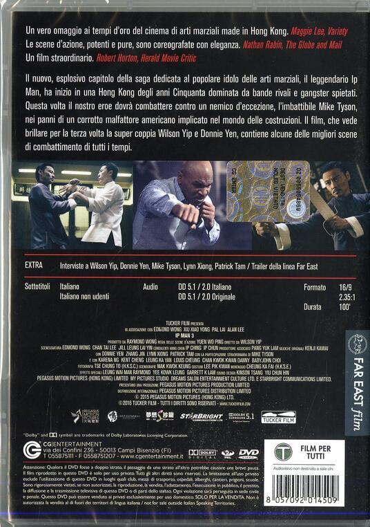 Ip Man 3 di Wilson Yip - DVD - 2