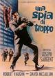 Cover Dvd Una spia di troppo