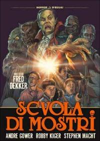 Cover Dvd Scuola di mostri (DVD)