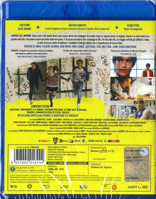 Un bacio (Blu-ray) di Ivan Cotroneo - Blu-ray - 7