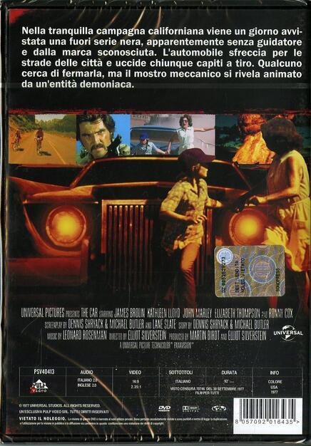 La Macchina Nera Dvd Dvd Film Di Elliot Silverstein Fantastico Ibs