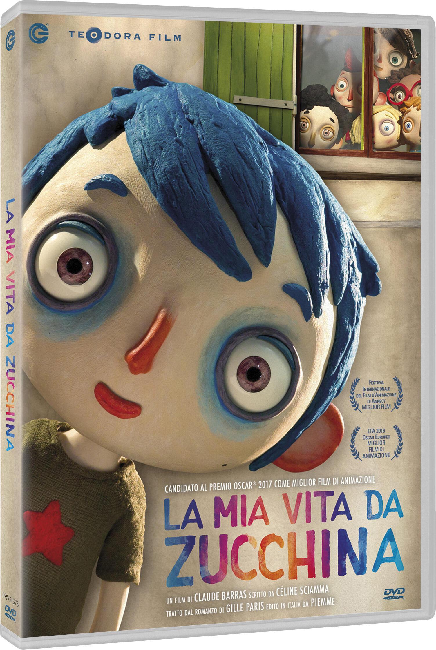 La mia vita da zucchina dvd dvd film di claude for La zucchina