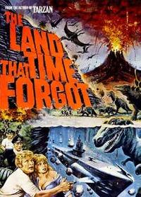 Locandina La terra dimenticata dal tempo