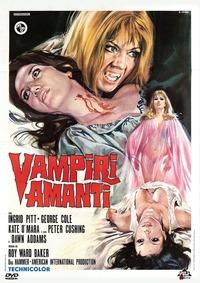 Cover Dvd Vampiri amanti (DVD) (DVD)