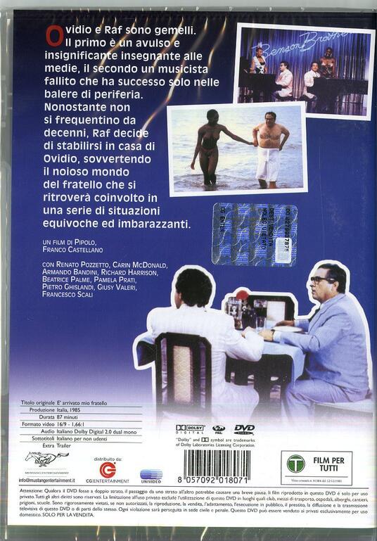 È arrivato mio fratello (DVD) di Pipolo,Franco Castellano - DVD - 7