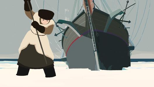 Sasha e il Polo Nord (DVD) di Rémi Chayé - DVD - 2