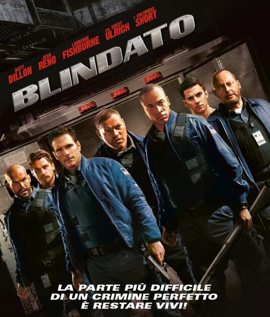 Blindato (Blu-ray) di Nimród Antal - Blu-ray